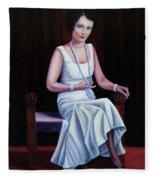 Jessie Mckay Lane Fleece Blanket