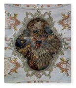 Jesuitenkirche -- Lucerne Jesuit Church Fleece Blanket