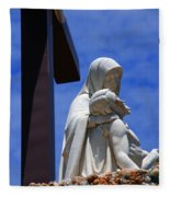 Jesus And Maria Fleece Blanket