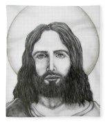 Jesus Christ Fleece Blanket