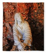 Jesus Christ Fleece Blanket