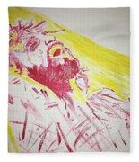 Jesus Glory Fleece Blanket