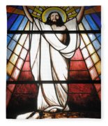 Jesus Is Our Savior Fleece Blanket
