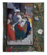 Jesus: Last Supper Fleece Blanket
