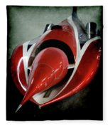 Jet Car Fleece Blanket