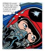 Jet Pilot Fleece Blanket