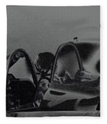 Jet Pilots Fleece Blanket