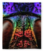 Jewel Beetle Detail Fleece Blanket