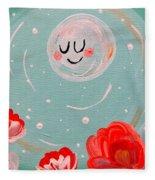 Jewel Moon Fleece Blanket