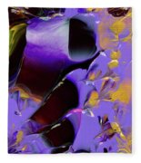 Jeweled Amethyst Fleece Blanket