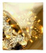 Jewels And Satin Fleece Blanket