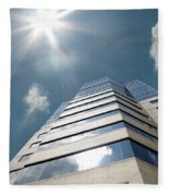 Jewish Hospital-louisville Ky Fleece Blanket
