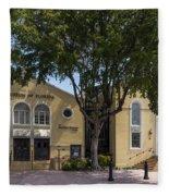 Jewish Museum Of Florida  Fleece Blanket