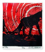Jezebel And Me Fleece Blanket