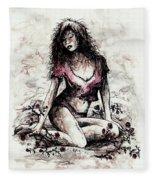 Jezebel Fleece Blanket