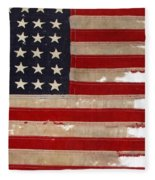 Jfk's Pt-109 Flag Fleece Blanket