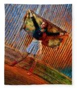 Jill Heron Magical Carpet Fleece Blanket