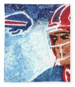 Jim Kelly Fleece Blanket