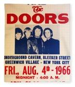 Jim Morrison And The Doors Poster Collection 3 Fleece Blanket