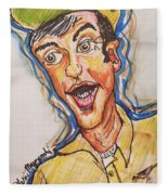 Jim Nabors Fleece Blanket