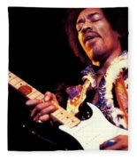 Jimi Hendrix Fleece Blanket