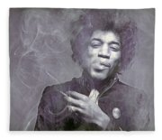 Jimi's Fug  Fleece Blanket