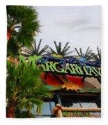 Jimmy Buffets Margaritaville In Las Vegas Fleece Blanket