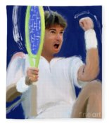 Jimmy Connors Fleece Blanket
