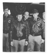 Jimmy Doolittle And His Crew Fleece Blanket