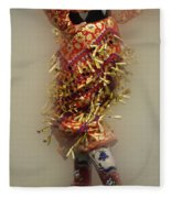 Pow Wow Jingle Dancer 6 Fleece Blanket