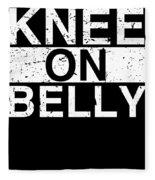 Jiu Jitsu Bjj Knee On Belly Light Fleece Blanket