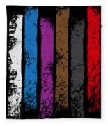 Jiu Jitsu Design United Belts Of Jiu Jitsu Vertical Light Martial Arts Fleece Blanket