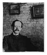 J.j. Thomson, English Physicist Fleece Blanket