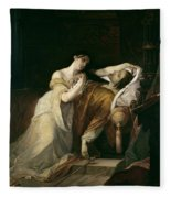 Joanna The Mad With Philip I The Handsome Fleece Blanket