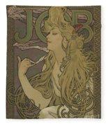 Job, 1896 Fleece Blanket