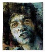 Joe Cocker Fleece Blanket