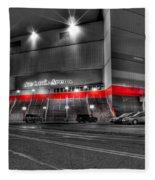 Joe Louis Arena Detroit Mi Fleece Blanket