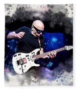 Joe Satriani Fleece Blanket