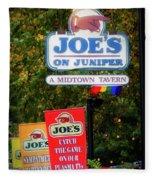 Joe's On Juniper Fleece Blanket