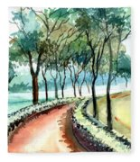 Jogging Track Fleece Blanket