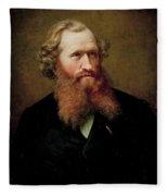 Johan Fredrik Eckersberg  Fleece Blanket