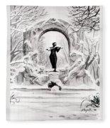 Johann Strauss  Fleece Blanket