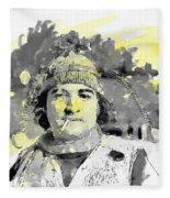 John Belushi Killer Bee Fleece Blanket