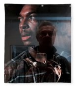 John Coltrane And Me Fleece Blanket