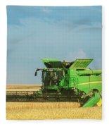 John Deere S690 Fleece Blanket
