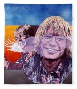 John Denver Fleece Blanket