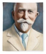 John H. Kellogg, 1852-1943 Fleece Blanket