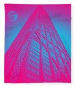 John Hancock Building In Chicago 1 Fleece Blanket