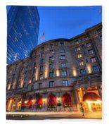 John Hancock Tower Fairmont Copley Plaza Boston Ma Fleece Blanket