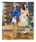 John Henry King Interpretation Fleece Blanket